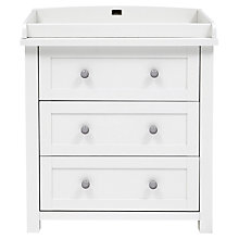 Buy Silver Cross Nostalgia Dresser, Antique White/Black Online at johnlewis.com