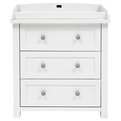 Buy Silver Cross Nostalgia Dresser and Wardrobe, Antique White/Silver Online at johnlewis.com