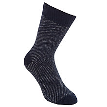 Buy JOHN LEWIS & Co. Birdseye Socks, One Size Online at johnlewis.com