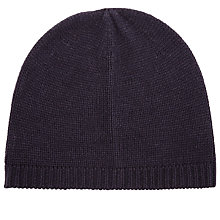 Buy John Lewis Knitted Beanie Hat Online at johnlewis.com