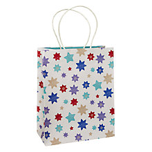 Buy John Lewis Autumn Star Gift Bag, Medium Online at johnlewis.com