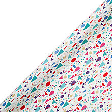 Buy John Lewis Geometric Wrapping Paper, 3m Online at johnlewis.com