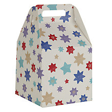Buy John Lewis Star Gift Box, Small, Multi Online at johnlewis.com