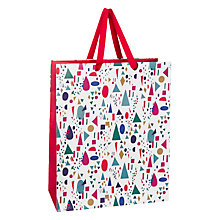 Buy John Lewis Geometric Gift Bag, Medium, Multi Online at johnlewis.com
