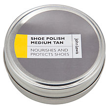 Buy John Lewis Shoe Polish, Medium Tan Online at johnlewis.com