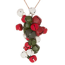Buy John Lewis Bell Cluster Decoration, Multi Online at johnlewis.com