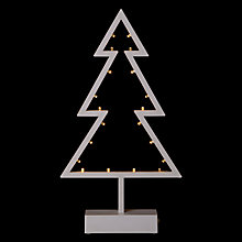 Buy John Lewis Pre-Lit Tree LED Light, Warm White Online at johnlewis.com