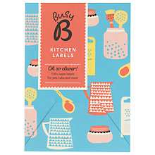 Buy Ktwo Busy B Kitchen Labels Online at johnlewis.com