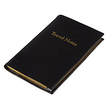 Buy Leathersmiths of London Rutland Travel Notebook Online at johnlewis.com
