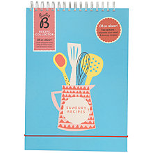 Buy Ktwo Busy B Sweet And Savoury A4 Recipe File Online at johnlewis.com