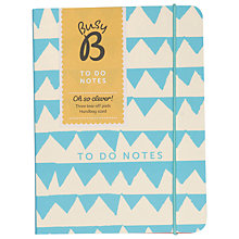 Buy Ktwo Busy B To Do Notebook Online at johnlewis.com