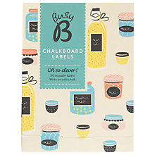 Buy Ktwo Busy B Chalkboard Labels Online at johnlewis.com