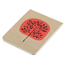 Buy Art File Trees A7 Stitched Notebook Online at johnlewis.com