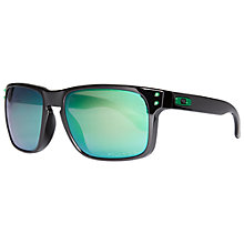 Buy Oakley 009102 Shaun White Signature Series Holbrook Sunglasses, Polished Black Online at johnlewis.com