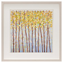 Buy Libby Smart - Glistening Trees Framed Print, 43 x 43cm Online at johnlewis.com