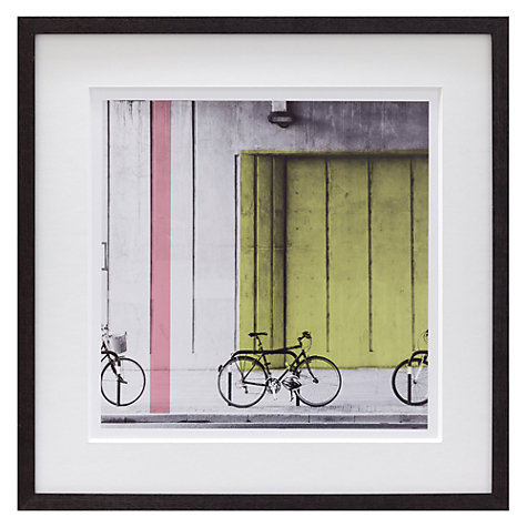 Buy Scott Dunwoodie - Bikes Framed Print, 43 x 43cm Online at johnlewis.com