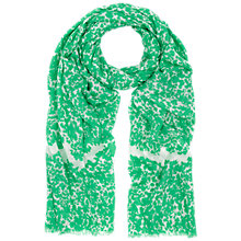 Buy Whistles Crystalised Floral Print Scarf Online at johnlewis.com