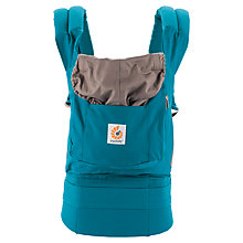 Buy Ergobaby Original Baby Carrier, Teal Online at johnlewis.com