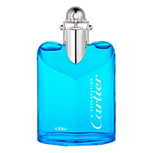 Buy Cartier Déclaration L'Eau Eau de Toilette, 50ml Online at johnlewis.com