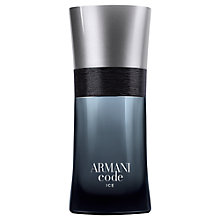 Buy ARMANI Code Ice Eau de Toilette Online at johnlewis.com