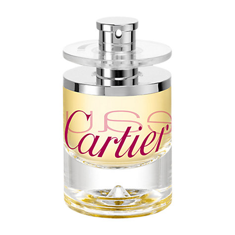Buy Cartier Eau de Cartier Zeste Eau de Toilette, 50 ml Online at johnlewis.com