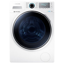 Buy Samsung WW80H7410EW Washing Machine, 8kg Load, A+++ Energy Rating, 1400rpm Spin, White Online at johnlewis.com