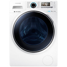 Buy Samsung WW12H8420EW Freestanding Washing Machine, 12kg Load, A+++ Energy Rating, 1400rpm Spin, White Online at johnlewis.com