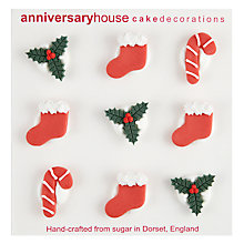Buy Creative Party Christmas Sugar Toppers Online at johnlewis.com