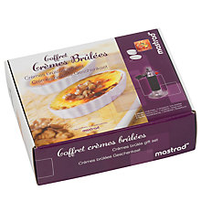 Buy Mastrad Crème Brûlée Kit, Set of 5 Online at johnlewis.com