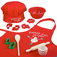 Buy Cooksmart Kids Christmas Baking Set, 12 Pieces Online at johnlewis.com