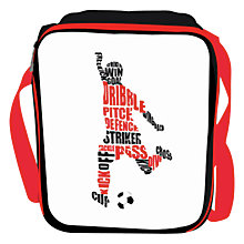 Buy Speakmark Football Lunch Bag Online at johnlewis.com