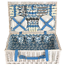 Buy Anorak Kissing Squirrels Picnic Hamper, 4 Person Online at johnlewis.com