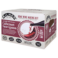 Buy Kilner Drink Works Make Your Own Cabernet Sauvignon 6 Bottles Pack Online at johnlewis.com