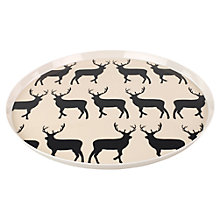 Buy Anorak Kissing Stags Melamine Tray Online at johnlewis.com