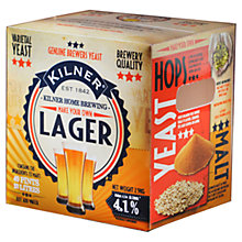 Buy Kilner Drink Works Make Your Own Lager 40 Pint Pack Online at johnlewis.com