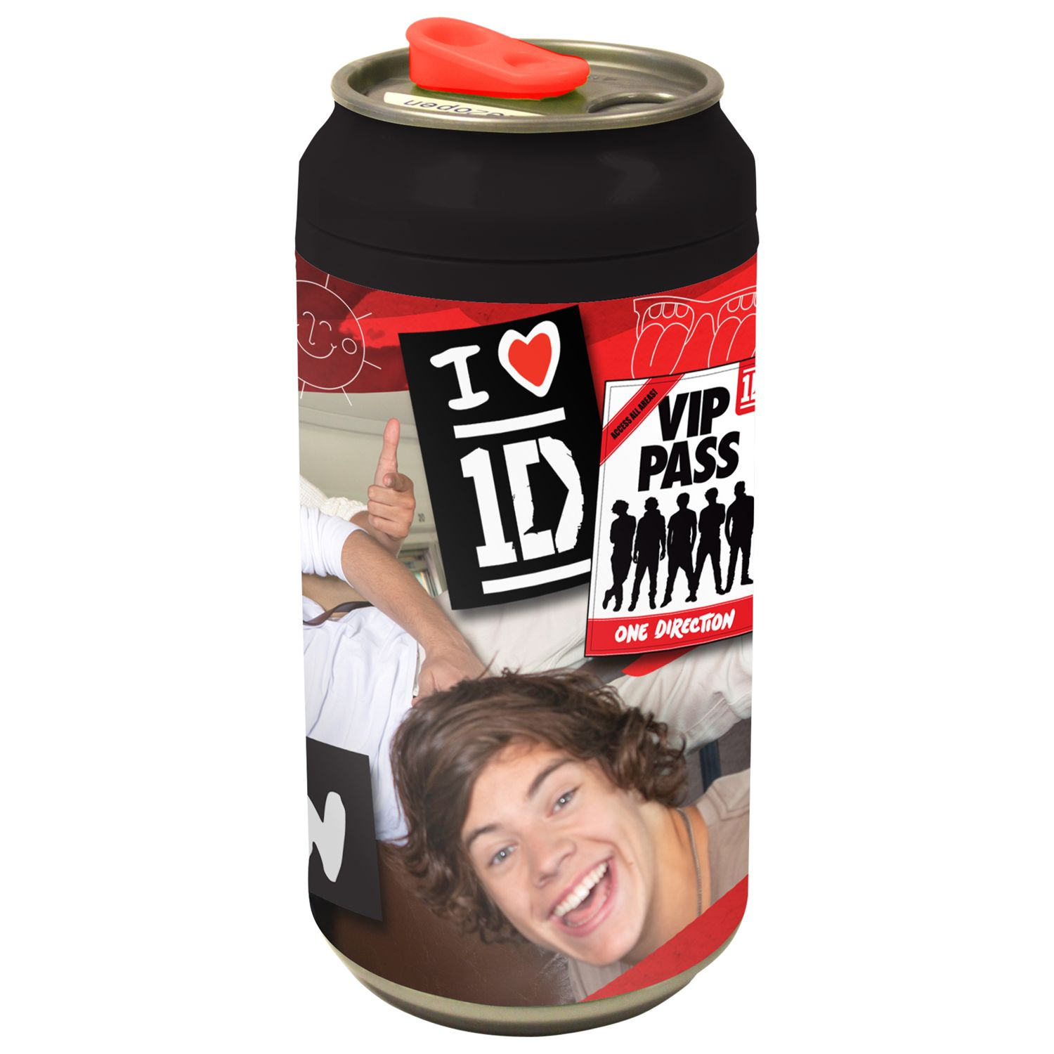 Speakmark One Direction Drinks Can