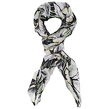 Buy French Connection Amari Scarf, Black/Multi Online at johnlewis.com