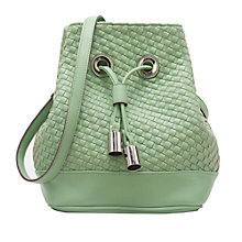 Buy French Connection Lola Bucket Bag, Sweet Apple Online at johnlewis.com