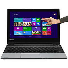 "Buy Toshiba Satellite NB10t-A-10F Laptop, Intel Celeron, 4GB RAM, 500GB, 11.6"" Touch Screen, Silver Online at johnlewis.com"