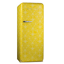 Buy Smeg FAB28RD Cummersdale Retro Fridge with Freezer Compartment, A++ Energy Rating, 60cm Wide, Citrine Online at johnlewis.com