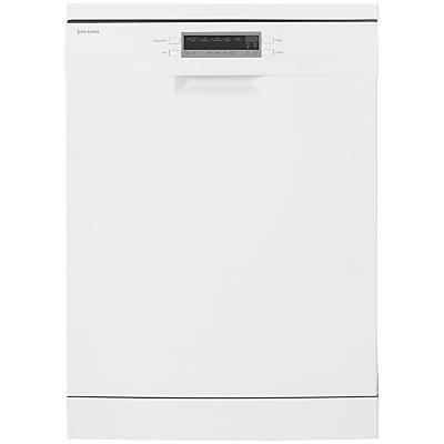 John Lewis JLDWW1223 Freestanding Dishwasher, White