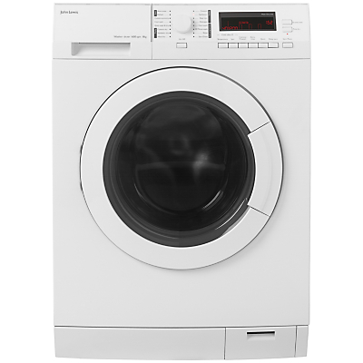 John Lewis JLWD1612 Washer Dryer, 8kg Wash/6kg Dry Load, A Energy Rating, 1600rpm Spin, White