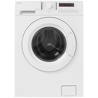 John Lewis JLWM1413 Freestanding Washing Machine, 8kg Load, A+++ Energy Rating, 1400rpm Spin, White