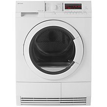 Buy John Lewis JLTDH19 Heat Pump Condenser Tumble Dryer, 8kg Load, A+ Energy Rating, White Online at johnlewis.com