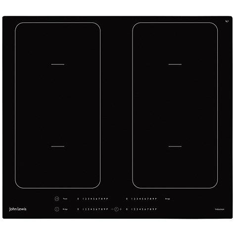 buy john lewis jlbiih605 induction hob black john lewis. Black Bedroom Furniture Sets. Home Design Ideas