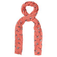 Buy Oasis Lantern Scarf, Coral Online at johnlewis.com