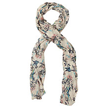 Buy Oasis Bird Branch Scarf, Multi Online at johnlewis.com