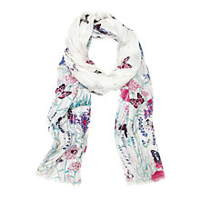 Buy Oasis Oriental Meadow Garden Scarf, Multi Online at johnlewis.com