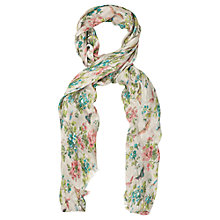 Buy Oasis Butterfly Blossom Scarf, Multi Online at johnlewis.com