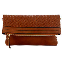 Buy Oasis Whitney Weave Clutch Bag Online at johnlewis.com